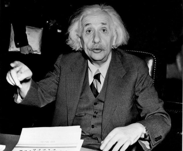 Einstein was said to have been dyslexic (Picture: Getty Images)