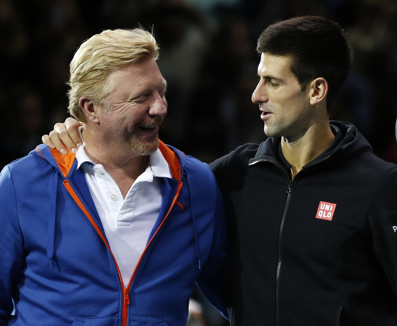 Boris Becker believes Novak Djokovic and Andre Agassi can strike positive partnership