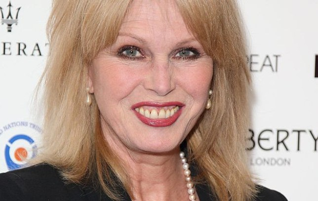 Joanna Lumley wants to donate her organs following her death (Picture: WireImage)