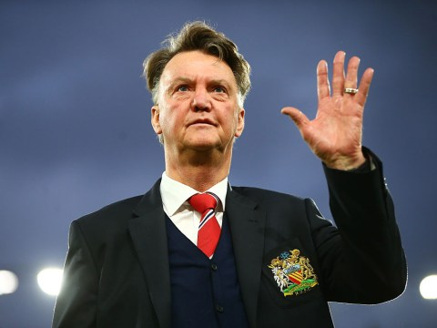 Louis van Gaal is giving Ajax tips on how to beat Manchester United in Europa League final