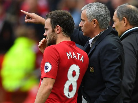 Juan Mata reveals the first thing Jose Mourinho said after joining him at Manchester United