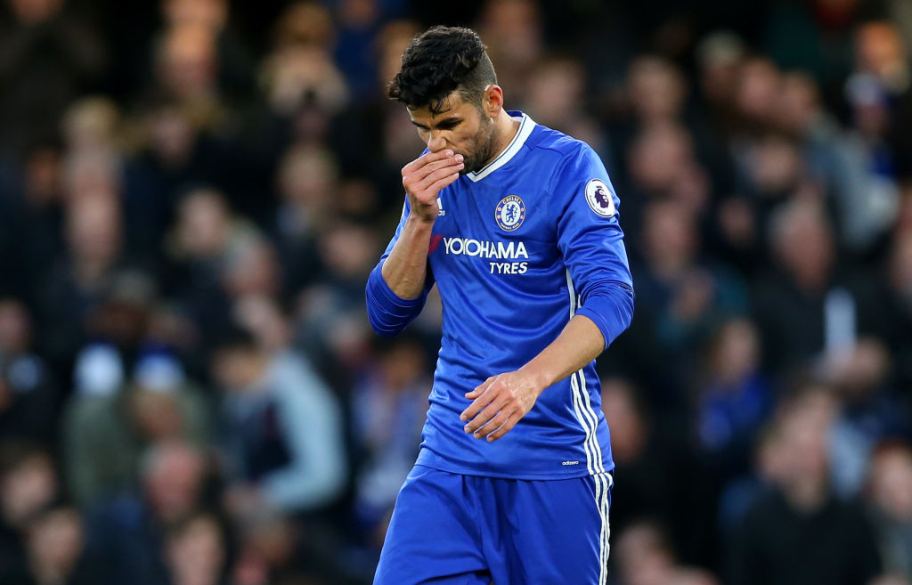 Chelsea striker Diego Costa urged to seal Chinese Super League transfer by Oscar