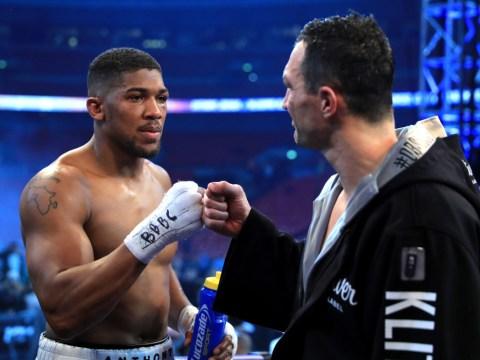 Anthony Joshua hopeful Wladimir Klitschko will order rematch for Las Vegas showdown