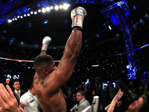 Anthony Joshua may never fight indoors again unless it is Las Vegas or New York, says Eddie Hearn