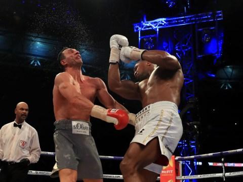 Eddie Hearn reveals Anthony Joshua's fight with Wladimir Klitschko breaks British pay-per-view record