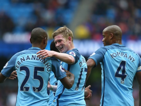 Man City 5-0 Crystal Palace player ratings: Kevin De Bruyne and David Silva edge Pep Guardiola's side closer to top four