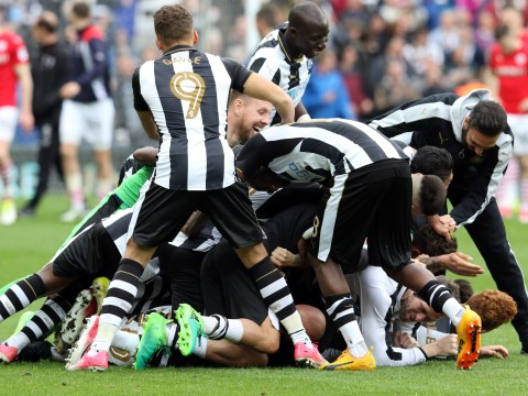 Newcastle crowned Championship winners as Blackburn are relegated