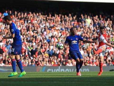Gary Neville slams Manchester United midfielder Ander Herrera for turning his back for Granit Xhaka goal