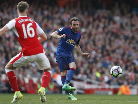 Manchester United's Juan Mata sees the positives after Arsenal defeat