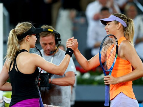 Maria Sharapova likes Twitter post branding Eugenie Bouchard 'insufferable' as feud rages on