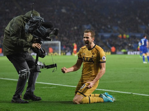 Harry Kane joins elite list of Premier League strikers after stunning Leicester City display