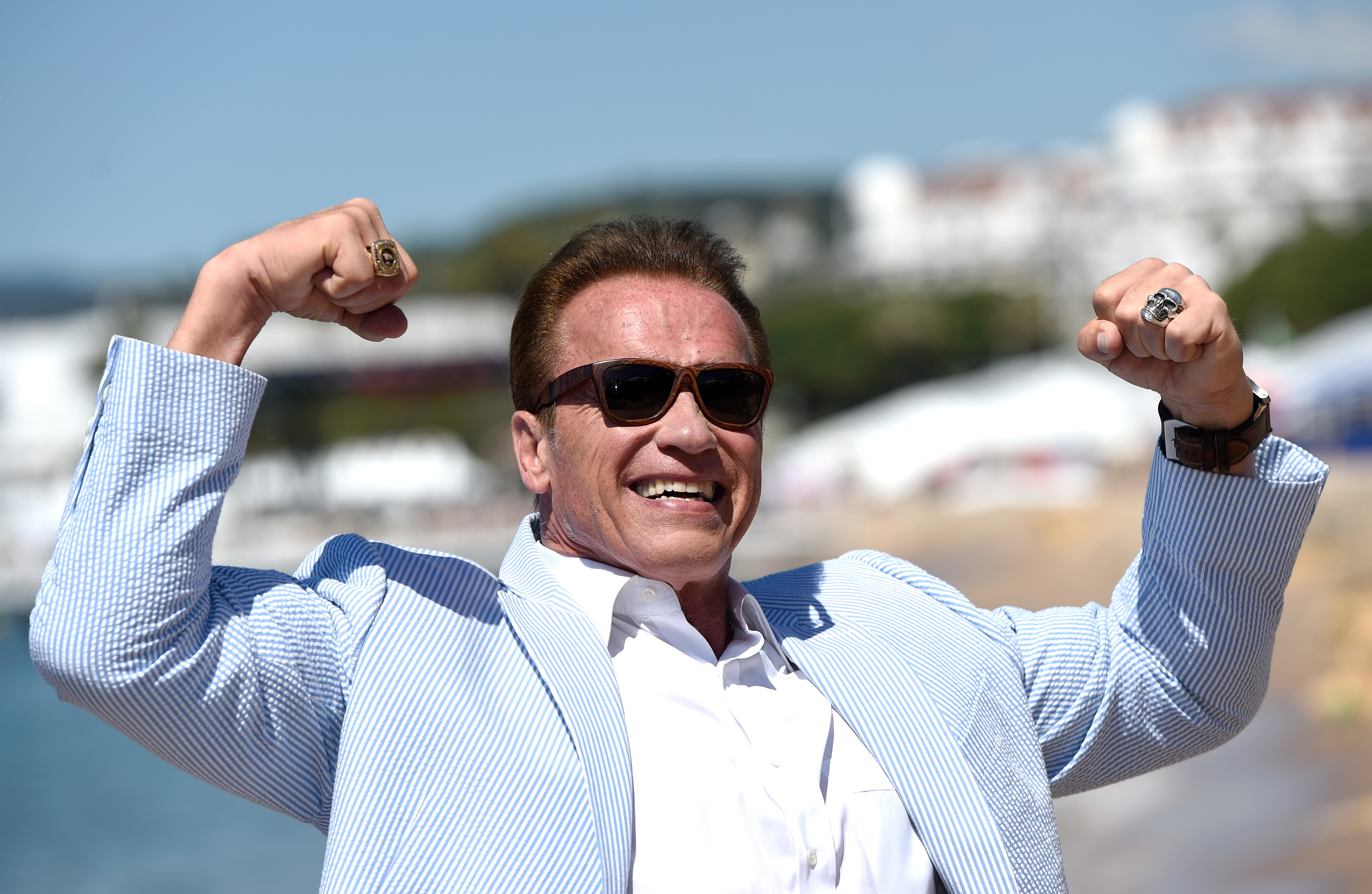 Arnold Schwarzenegger confirms the sequel to Twins is 'just around the corner'