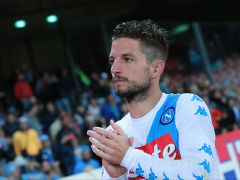 Chelsea and Manchester United offered Dries Mertens transfer hope despite him signing new Napoli contract