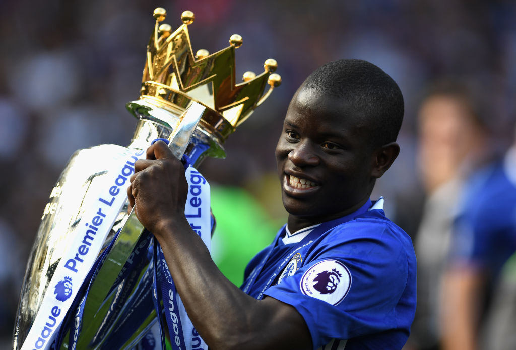 Frank Lampard explains why N'Golo Kante is even better than Claude Makelele