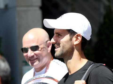 Novak Djokovic: Andre Agassi and I have already 'clicked' after first day