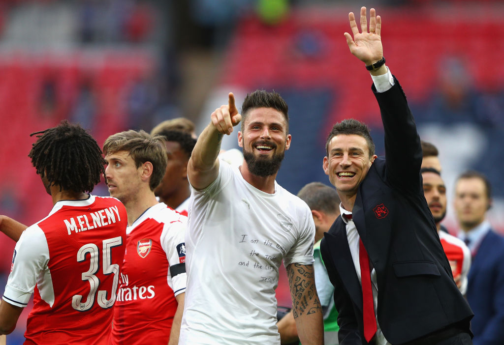 Arsenal's Olivier Giroud a transfer target for Marseille and Lyon