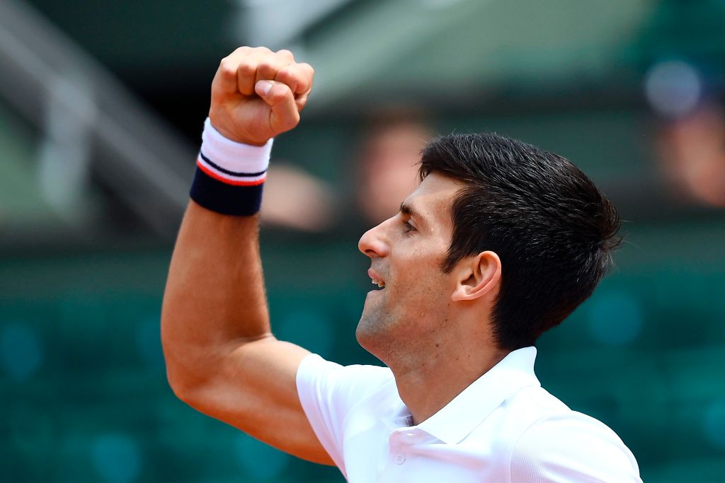 Fiery Novak Djokovic wins opening match under Andre Agassi tutelage to start French Open title defence