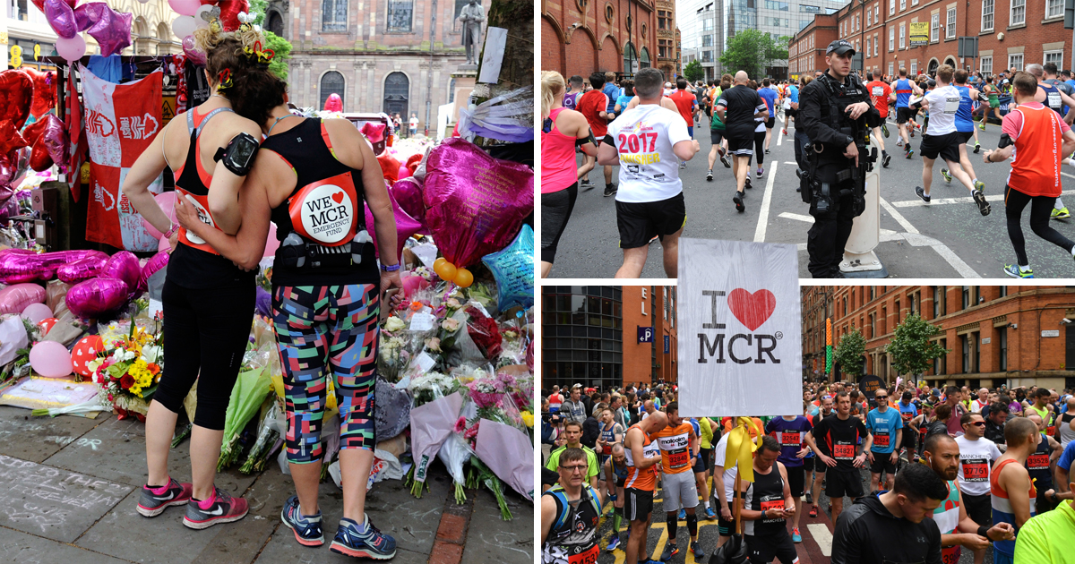 Tens of thousands turn out for Great Manchester Run amid tight security