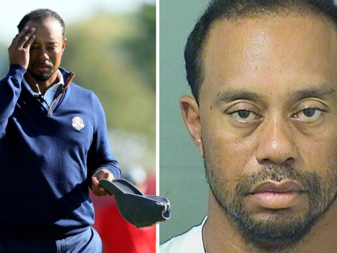 Tiger Woods breaks silence after arrest to insist 'alcohol was not involved'