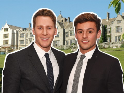 Tom Daley and Dustin Lance Black 'marry in Romeo and Julie style castle wedding'
