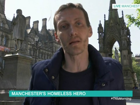 Homeless Manchester hero Stephen Jones aims to get back on his feet as he reveals he has a job interview