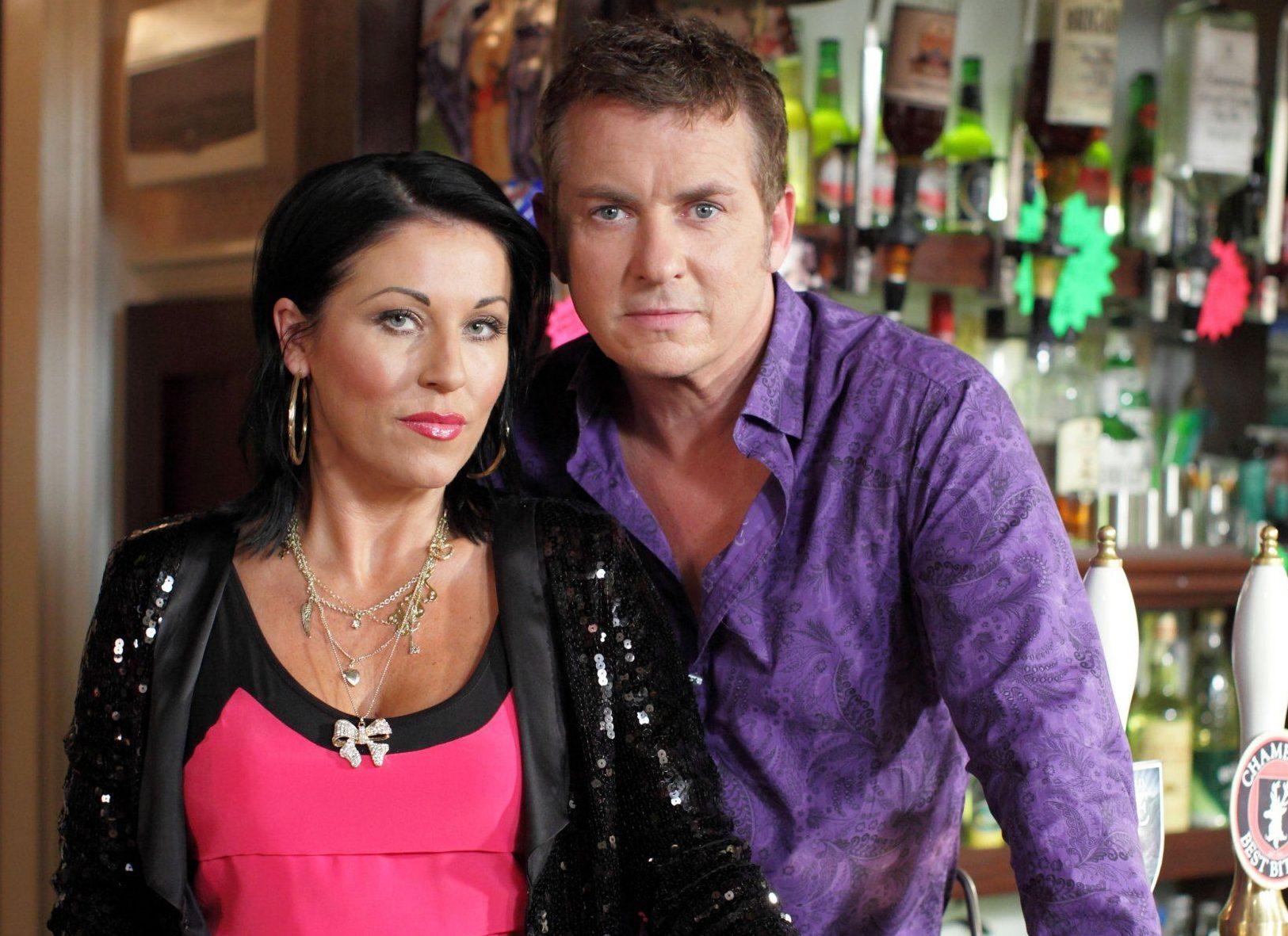Television Programme: EastEnders, with Jessie Wallace as Kat Moon and Shane Richie as Alfie Moon. Kat tells Alfie she's pregnant. 320934-eastenders.jpg