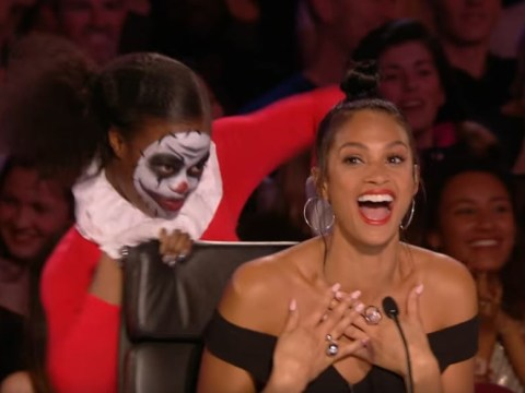 Britain's Got Talent judges get creeped out as terrifying clowns invade the stage