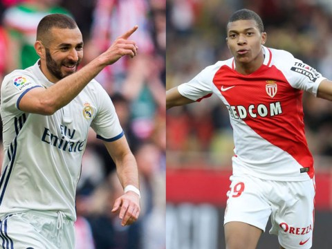 Arsenal legend Emmanuel Petit says Gunners have no chance of signing Karim Benzema or Kylian Mbappe