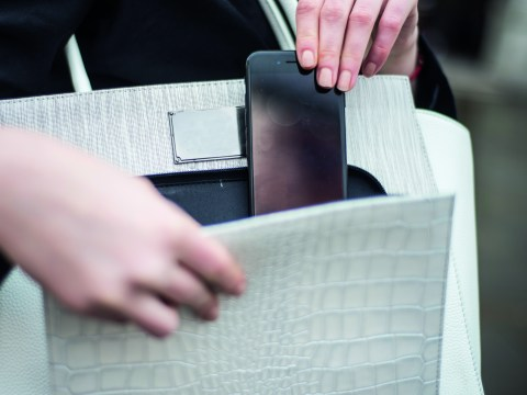 This smart handbag will tell you when it's lost and charge your phone