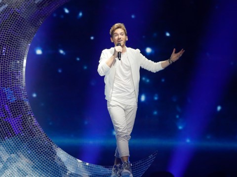 Nathan Trent shoots for the moon for Austria at Eurovision
