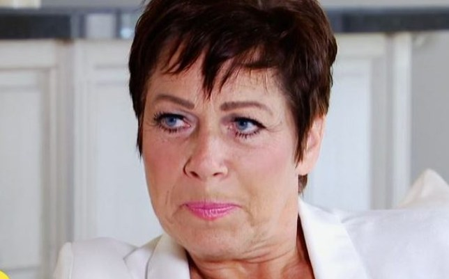 Denise Welch has opened up about the stigma surrounding mental health (Picture: ITV)