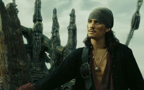 Orlando Bloom won serious dad points when he joined Pirates Of The Caribbean again