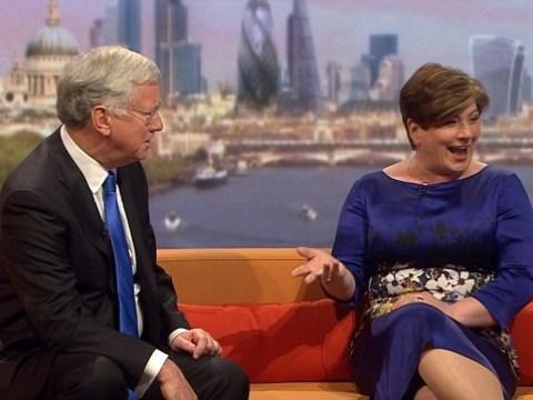 Labour's Emily Thornberry tells defence secretary Michael Fallon he is talking 'b******s'