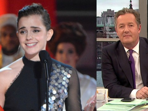 'Should we end gender?' Piers Morgan goes on epic rant as Emma Watson collects first gender-neutral gong at MTV Awards
