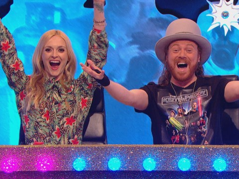 Fearne Cotton is co-hosting Celebrity Juice with Keith Lemon for the first time