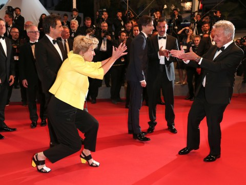 Cannes Film Festival 2017: Emma Thompson and Dustin Hoffman bust a move on the red carpet