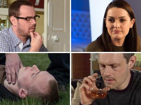 12 soap spoiler pictures: EastEnders returns, Emmerdale killer attack, Coronation Street rage, Hollyoaks sex shame