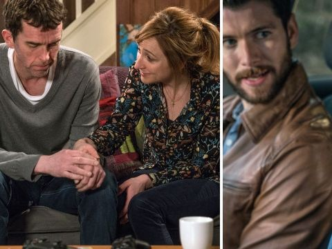 Emmerdale spoilers: Mark Charnock reveals all as Marlon Dingle and Carly Hope prepare to cheat on each other