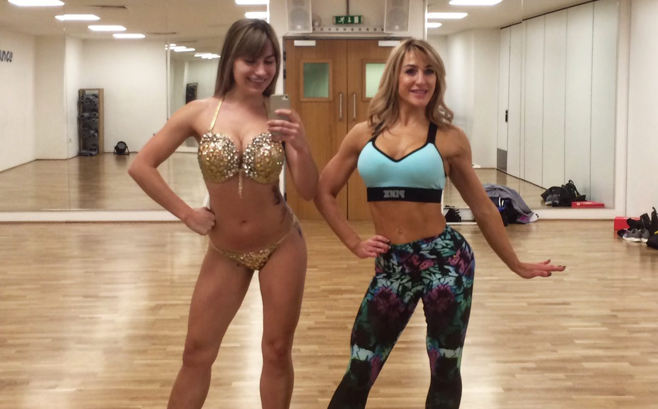 My journey to Miss Bikini Body: Power posing on stage (and in daily life)