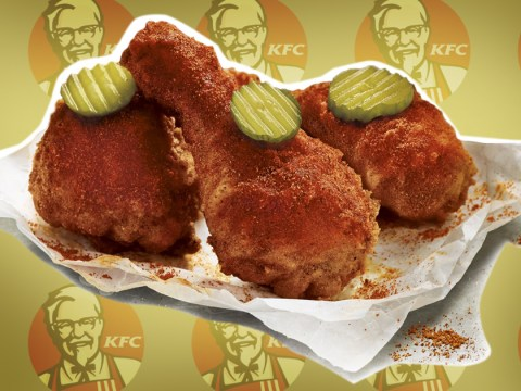 Hold the chilli sauce: KFC are launching a spicy version of their fried chicken – with a pickle on it