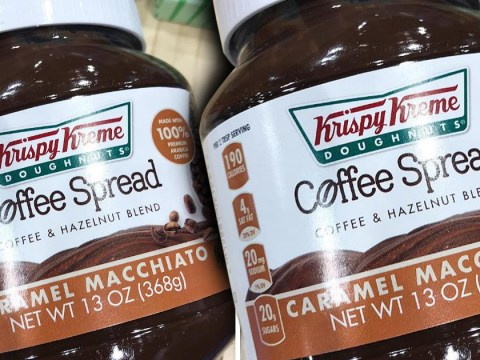 Krispy Kreme is launching a coffee and hazelnut spread