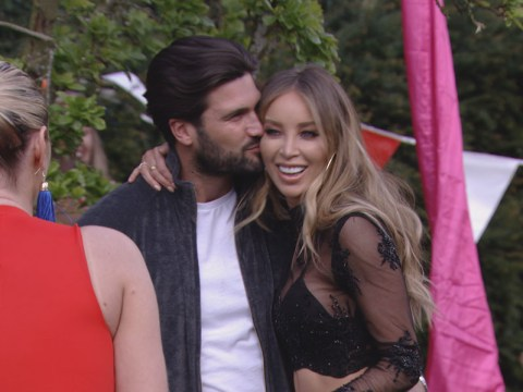 Lauren Pope makes a return to Towie as she shows up at Dan Edgar's birthday party