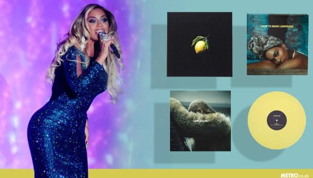 Beyonce is charging fans £232 for special box set of her album Lemonade (Picture: REX/ Boxset.Beyonce.com)