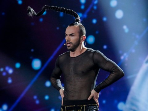 Rejoice – Eurovision's man with the plait has auditioned for The X Factor