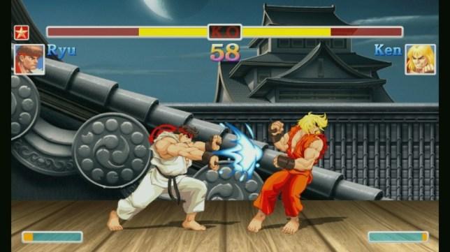 Ultra Street Fighter II (NS) - definitely not 10p a go