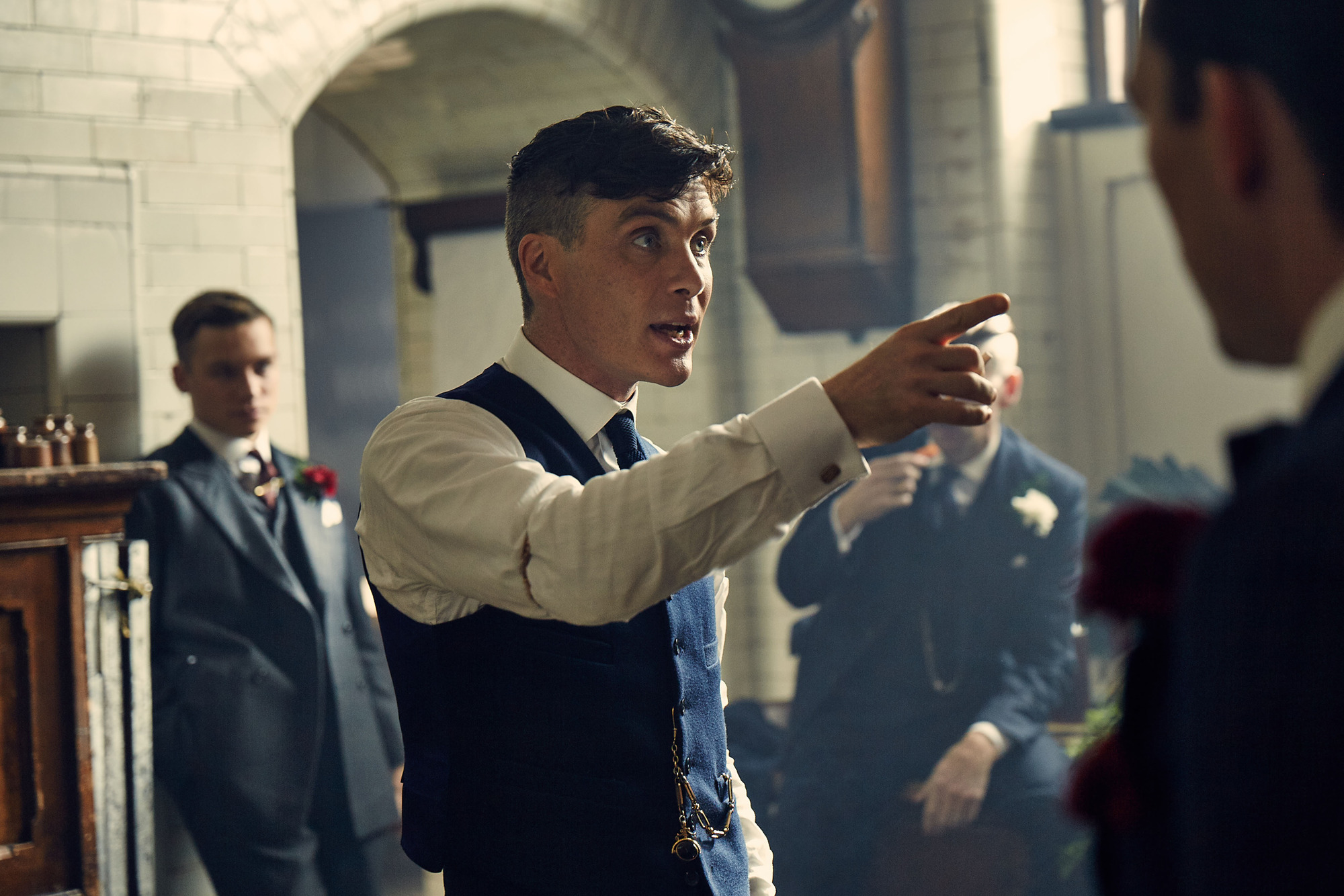 Cillian Murphy doesn't get why people like his Peaky Blinders haircut