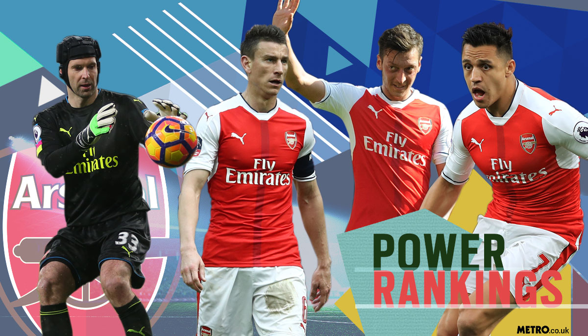 Arsenal power rankings: Who has been Arsene Wenger's MVP?