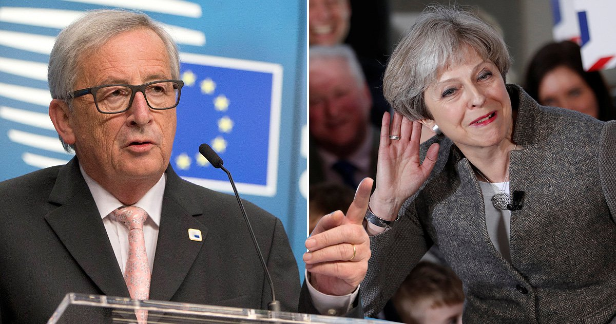 Theresa May responds to EU boss saying she's in another galaxy over Brexit