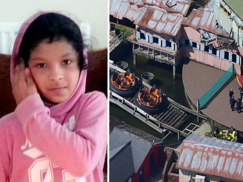 Theme parks across UK close white water rides after girl's death at Drayton Manor