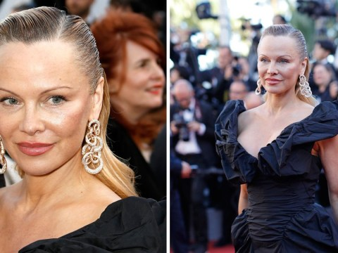 Do a double take at these pics of Pamela Anderson at the Cannes Film Festival